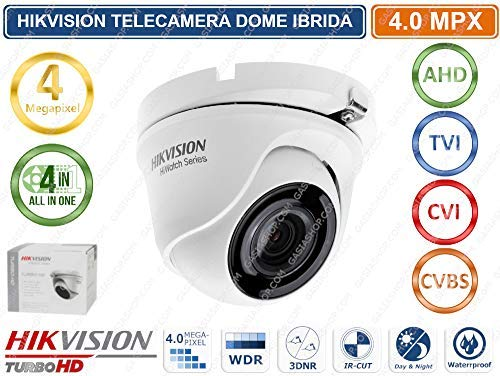 Hiwatch Telecamera Dome 4In1 4Mpx 2.8Mm Serie Hiwatch Hikvision Metal