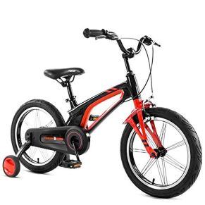 Qazxsw Bicicletas De Niños Niños Niños Y Niñas Bicicletas De Ciclismo Al Aire Libre Viajan Niños Bicicletas De 3 A 12 Años De Edad Niños En Edad Preescolar Bicicletas,Negro,14inches