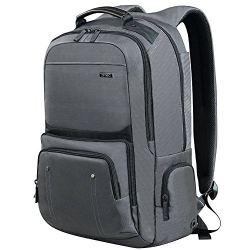 DTBG Business Travel Backpack Laptop Bag D8206W 17.3 Inch - Grey