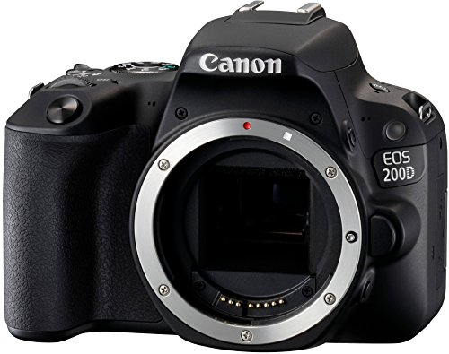 Canon EOS 200D Body Fotocamera Digitale Reflex, Nero