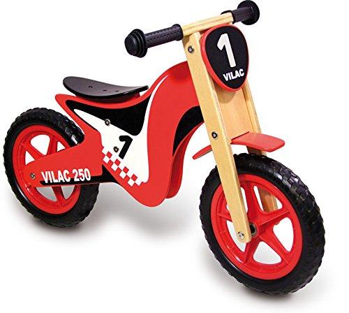 Vilac 1004 - Bicicletta Senza Pedali per Bambini, per Sviluppare L'Equilibrio