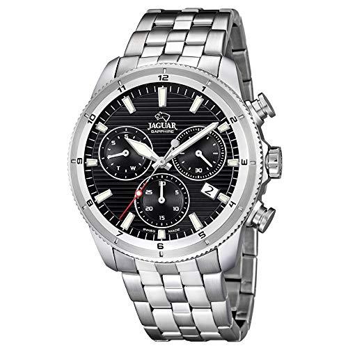 Orologio Jaguar uomo j687/D cronografo Quadrante Nero 43.5mm Diametro