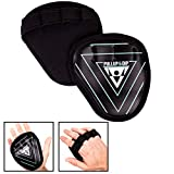PULLUP & DIP Fitness Grip Pads, Guantes de Agarre Fitness, Musculación, 1 Par de Almohadillas de...