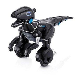 51z77M3Cu5L - Juguetrónica Robot MiPosaur, Color Negro (WowWee 0890)