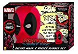 Rubies Costumes Marvel Deadpool Deluxe Mask & Speech Bubble Box Set