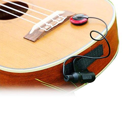 Pick-up elettronico universale per chitarra, ukulele e vari strumenti acustici come chitarra,...