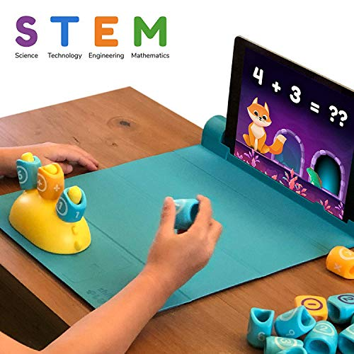 Shifu Math Game with Stories & Puzzles - Ages 5-10 - Stem Toy (iOS/ Samsung Devices) | Augmented Reality Based Cool Math Games for Boys and Girls