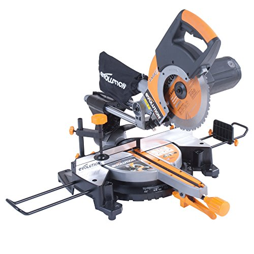 Our best pick for 2019 is the Evolution RAGE 3+ Multipurpose Sliding Mitre Saw. Many recent buyers have approved of its high-performance, especially its ability to cut different materials with just one blade. And should you need to change the blade, this tool comes with a side extension hex key for easy work. Bevel and slide mechanism ensure that the angle and depth of cut are adjustable as possible and a laser guide increases the accuracy of cuts.