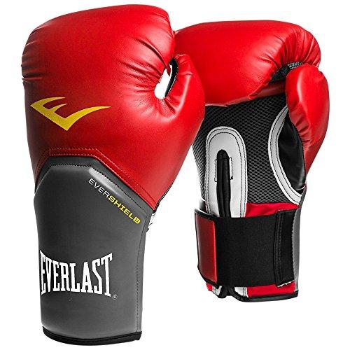 Everlast Pro Style Elite - Guantes de Boxeo para Entrenamiento, Color Rojo, Talla 12 oz