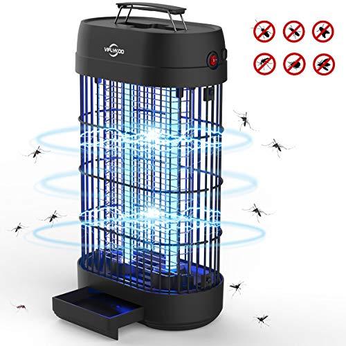 VIFLYKOO Zanzariera Elettrica,Lampada Antizanzare Elettrico Insetticida 18w 80㎡ con Luce UV e...