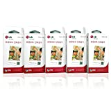 Zink Media 2x3' Zero Tinte Mobilfotodrucker Papier for LG Pocket Mobilfotodrucker PD221, PD233, PD239 / 150 Blatt