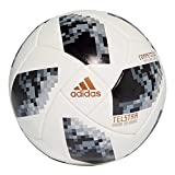 adidas Herren Telstar Competition Ball, White/Black/Silver Metallic, 5