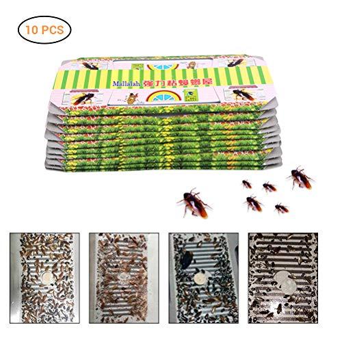 Hihey 10/20 PZ Trappola per scarafaggi Repellente per uccisioni Esca Forte Collettore appiccicoso Trappole Insetto