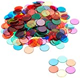 Learning-Fichas Transparentes Resources (6 Colores), (LER0131)