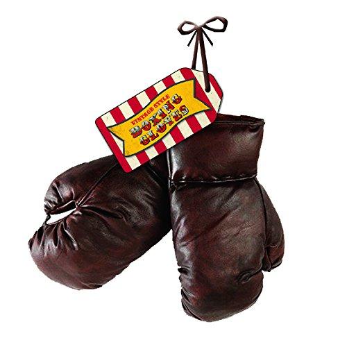 Robert Frederick 8oz Guanti da boxe con tag-Vintage Rosso E Bianco A Righe, Colori Assortiti