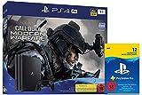 Sony Interactive Entertainment PlayStation 4  Pro - Konsole inkl. Call of Duty - Modern Warfare (1TB, schwarz, Pro) + PlayStation Plus Mitgliedschaft   12 Monate   deutsches Konto   PS4 Download Code