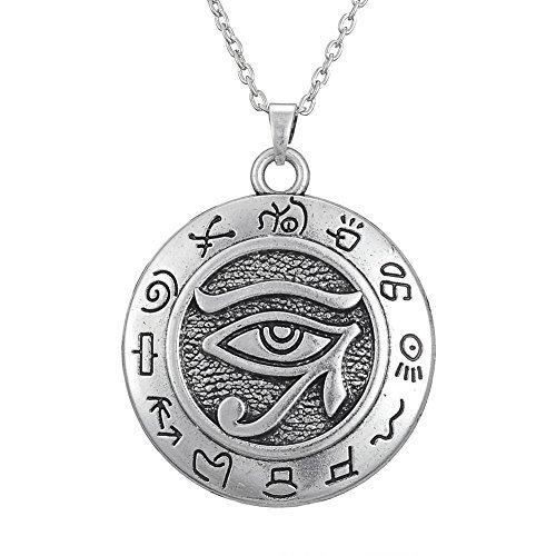 Colgante de plata ojo de Horus
