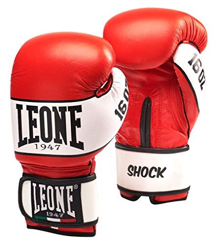 Leone 1947 Shock Guantoni, Rosso, 10 Oz