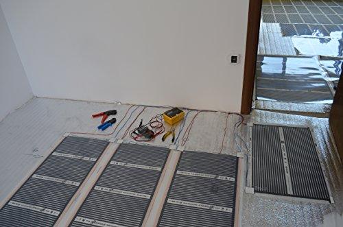 Heating Floor 24m2 Kit De Lectrique Chauffage Au Sol Film