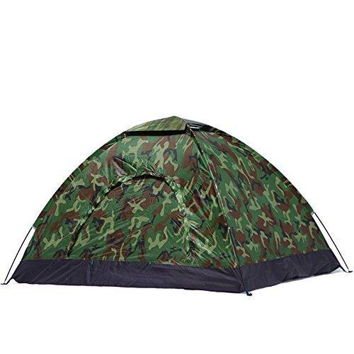 FWQPRA® Military Picnic Camping Portable Waterproof Dome Tent/Waterproof Picnic Camping Portable Waterproof Army Color Tent Military 4 Person Tent