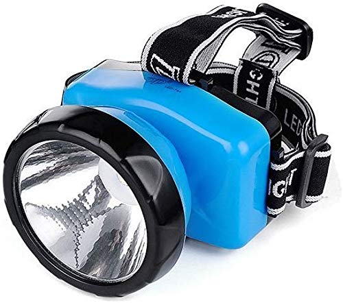FSI 20W Ultra Bright Head Torch Flashlight Rechargeable Lamp (Black)