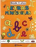 Letras minúsculas (desde 5 años) (Castellano - Material Complementario - Grandes Cuadernos) - 9788421654217