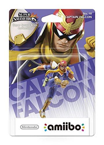 Nintendo - Figura Amiibo Smash Capitán Falcón