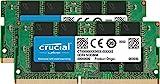 Crucial CT2K32G4SFD8266 64 GB Kit (32 GB x 2) (DDR4, 2666 MHz, SODIMM, 260-Pin, 1.2 V, CL19) Memory