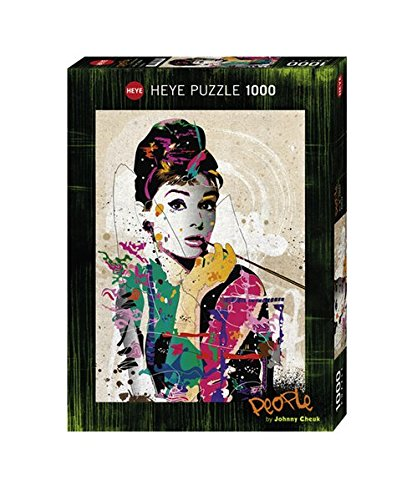Heye Puzzle Audrey, 1000 Pezzi, Multicolore, 29684