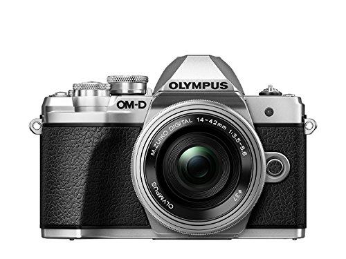 Olympus E-M10 Mark III Fotocamera con Obiettivo Pancake, Argento