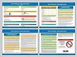 Affichage obligatoire - Code du travail - plastifié et effaçable - édition 2019