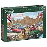 Falcon Games 11112 Classic Car Show Jigsaw Puzzle (1000-Piece, Multi-Colour)