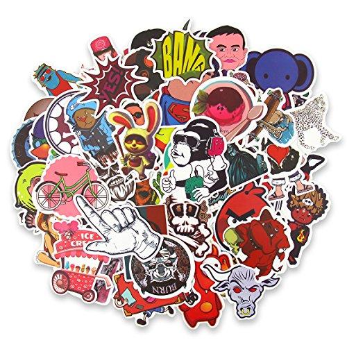 Adesivi Stickers Vinili, JER 200 Pcs Adesivo Graffiti per Laptop, Snowboard, Bagagli, Cellulare,...