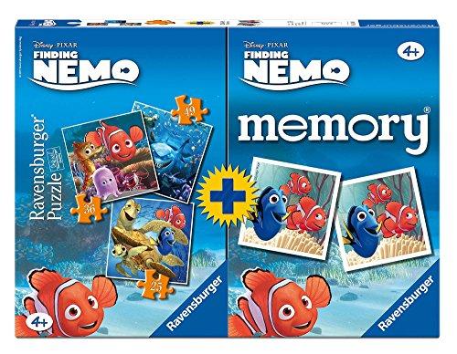 Ravensburger 07344 3 - Nemo Multipack, 3 Puzzle + 1 Memory