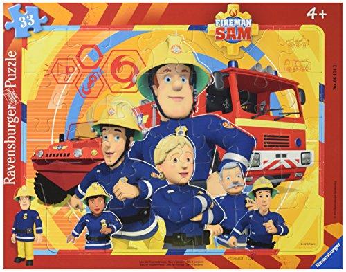 Ravensburger Italy Sam Il Pompiere Puzzle Incorniciato, 06114 3