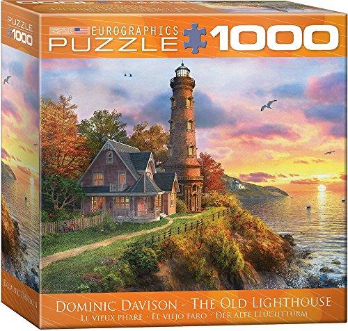 Eurographics 8000–0965The Old Lighthouse puzzle da pezzi