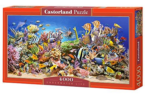 Jigsaw Puzzle - Underwater Life - Castorland - 4000 Pezzi