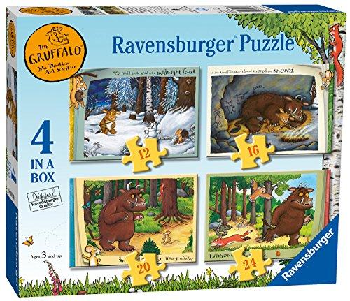 Ravensburger The Gruffalo 4in box (12, 16, 20, 24PC puzzle)