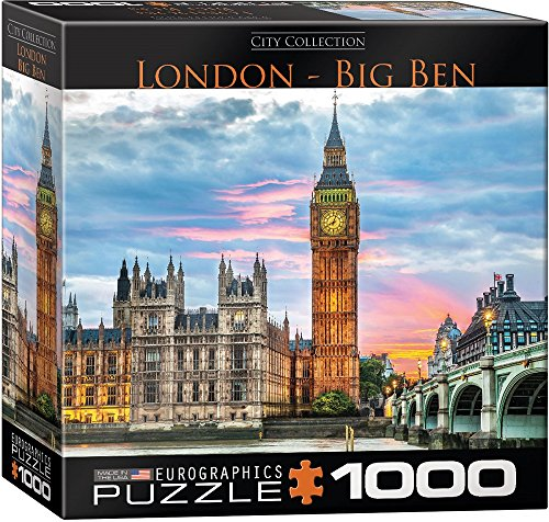 Eurographics 8000–1.940,6cm London Big Ben puzzle da pezzi