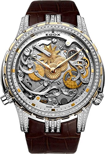 Edox Herren-Armbanduhr Cape Horn Super Limited Edition ~Tribute to SEA Dubai~ Analog Automatik 87003 318D2 AID