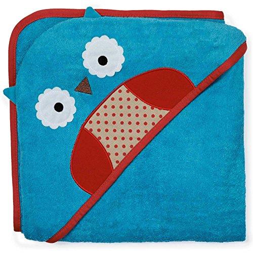 Buoqua Owl Skip Hop Zoo - Toalla con capucha