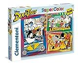 Clementoni Duck Tales Supercolor Puzzle, 3 X 48 Pezzi, 25226