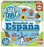 Educa Borrás- Desafio Quiz-Descubrir España, Color Variado (18217)