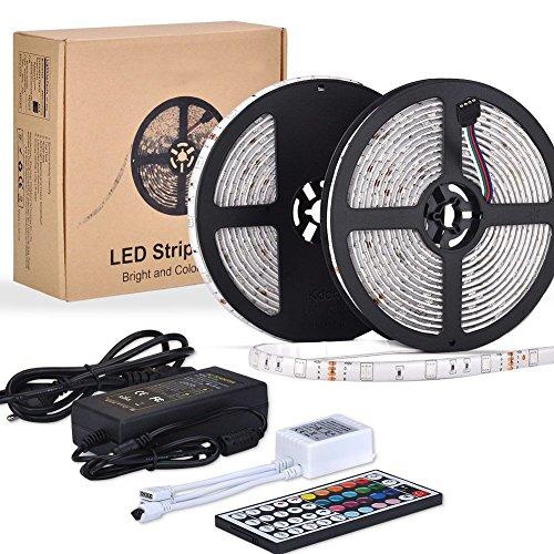 10M LED TV Retroilluminazione RGB Striscia, ESEYE 5050 Autoadesiva LED Strisce Impermeabile...