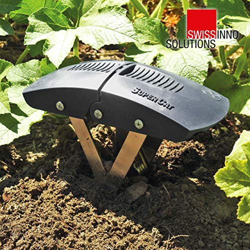 SWISSINNO SuperCat Mole Trap: Ultra-effective with high catch rates. Easy to use - Safe - Reusable.