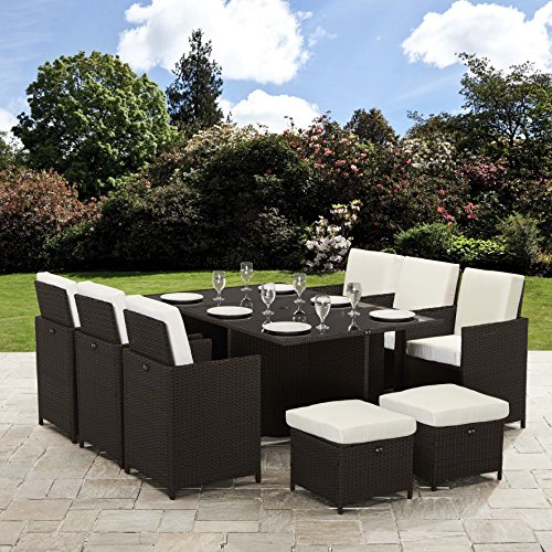 Bella Life Seater 10 Rattan Cube Garden Furniture Set Review