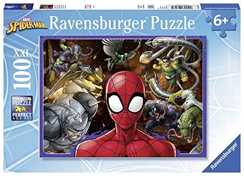 Ravensburger Italy Puzzle Spiderman, 100 Pezzi, 10728