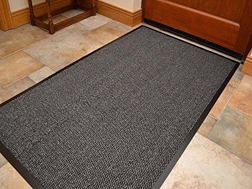 Think-Louder, tappetino per esterni in gomma anti-scivolo, per ingresso, zerbino da casa, cucina,...