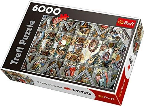Trefl Puzzle Soffitto Cappella Sistina, TRF65000