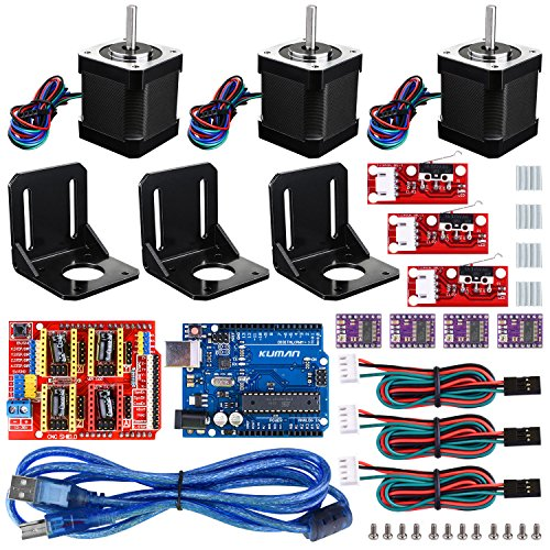 Professional 3D printer CNC Kit for arduino , Kuman GRBL CNC Shield+UNO R3 Board+RAMPS 1.4...